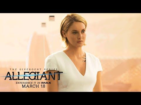"""The Divergent Series: Allegiant Official TV Spot – """"A Better Life"""" - YouTube sorry that was the ..."""