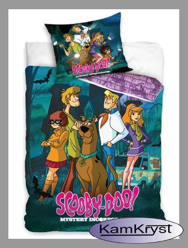 Kolejny nowy wzór pościeli Scooby-Doo na stronach sklepu Kamkryst