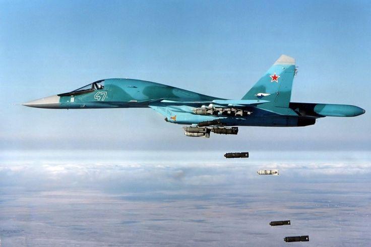 A Força Aérea da Rússia é atualmente a mais presente no combate ao Estado Islâmico na Síria (Divulgação)