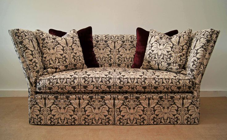 """Traditional """"Shelter"""" style sofa"""