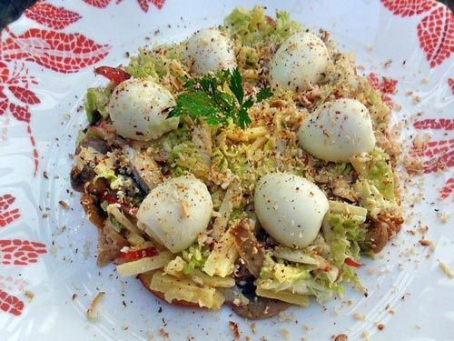 Салат ласточкино гнездо с мясом | Яблоки, Салаты, Рецепты