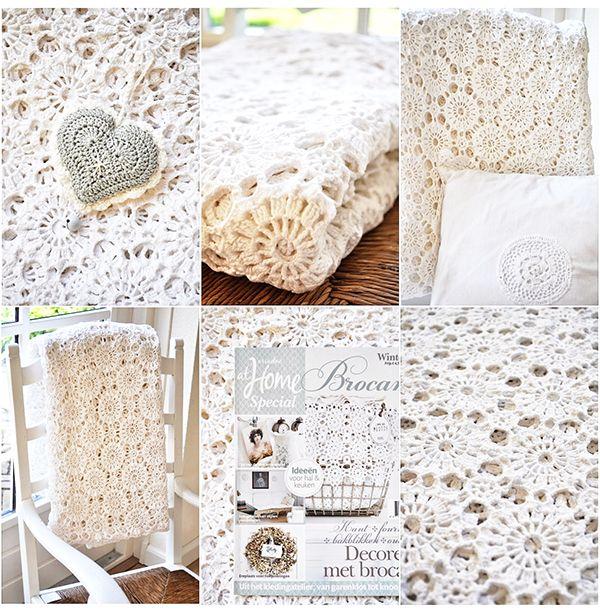 Shabby Chic crochet Pretty Crochet Inspiration and Patterns
