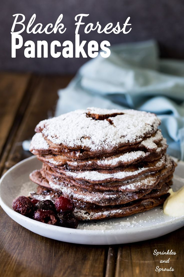 Rich chocolate pancakes, served with a delicious fruity cherry sauce and a good dollop of cream. These black forest pancakes are an…