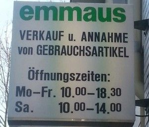 Emmaus Gemeinschaft in Köln e.V. - Das Lädchen