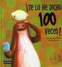 Animalec, un mar de libros: ¡Te lo he dicho 100 veces!
