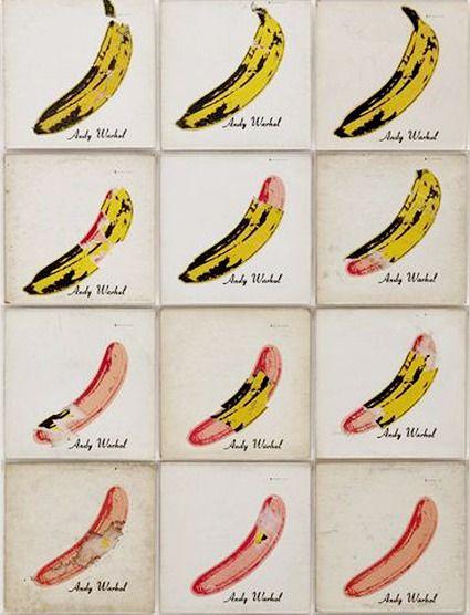 Warhol: Bananas (based on Velvet Underground record cover)