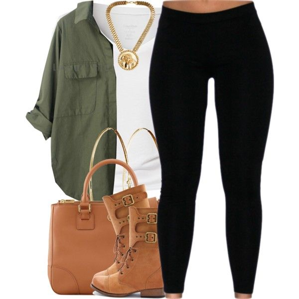 A fashion look from November 2014 featuring Calvin Klein t-shirts, Charlotte Russe ankle booties and Tory Burch tote bags. Browse and shop related looks.