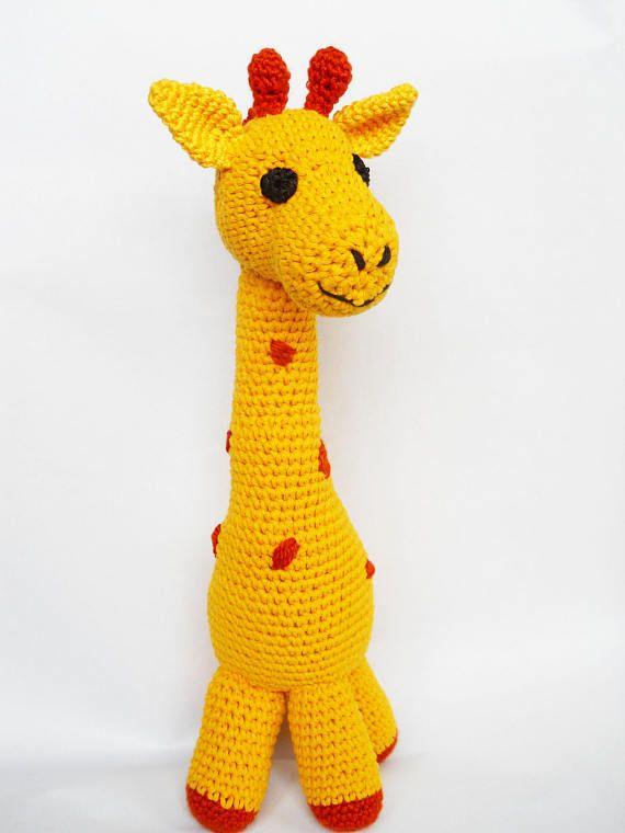 Crochet pattern Giraffe  amigurumi  instant download pdf
