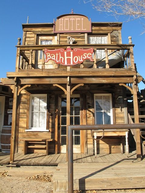 pictures of old bath houses | Bath House, Western Town, Ghost Town, Wild West, Old