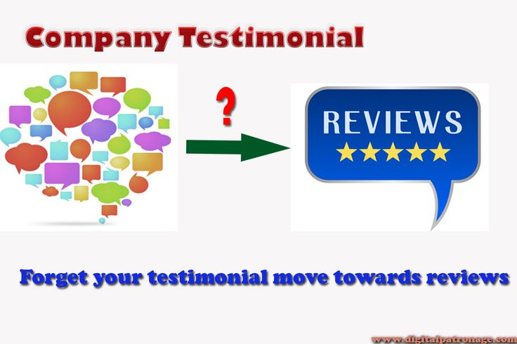 #SEOTrends2016 Now customer reading reviews for trust and reliability of your business not company testimonial. #SEO, #SMO