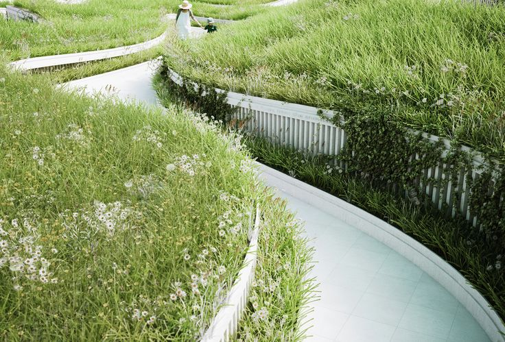 Gallery of Penda Designs River-Inspired Landscape Pavilion for China's Garden Expo - 9
