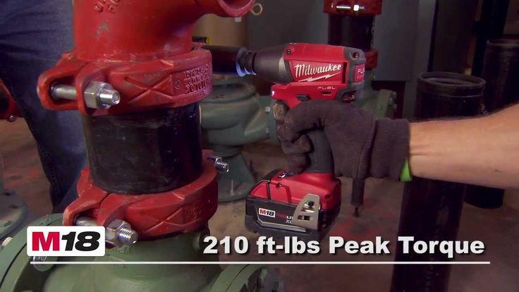 "Milwaukee® M18 FUEL™ 1/2"" Impact Wrench Kit 2655-22"