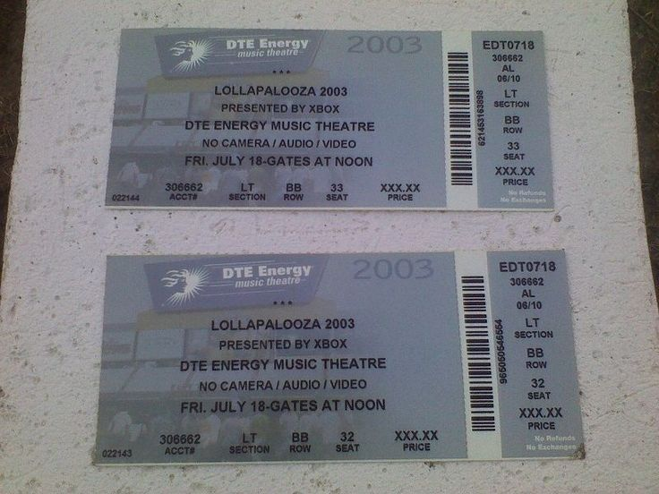 2 - Queens Of The Stone Age & Janes Addiction Lollapalooza 2003 Michigan Tickets