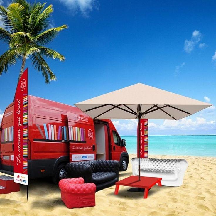 Bibliotecas para el verano De plage en plage, suivez l'itinéraire du Camion qui livre sur internet > http://bit.ly/1kvvGW5 #culture #livre pic.twitter.com/yHh0UD8jSl