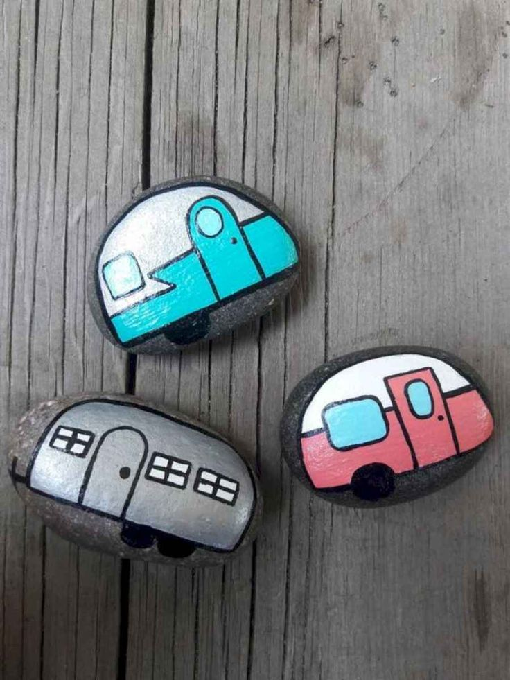 40 Cute DIY Rock Painting Ideas on a Budget