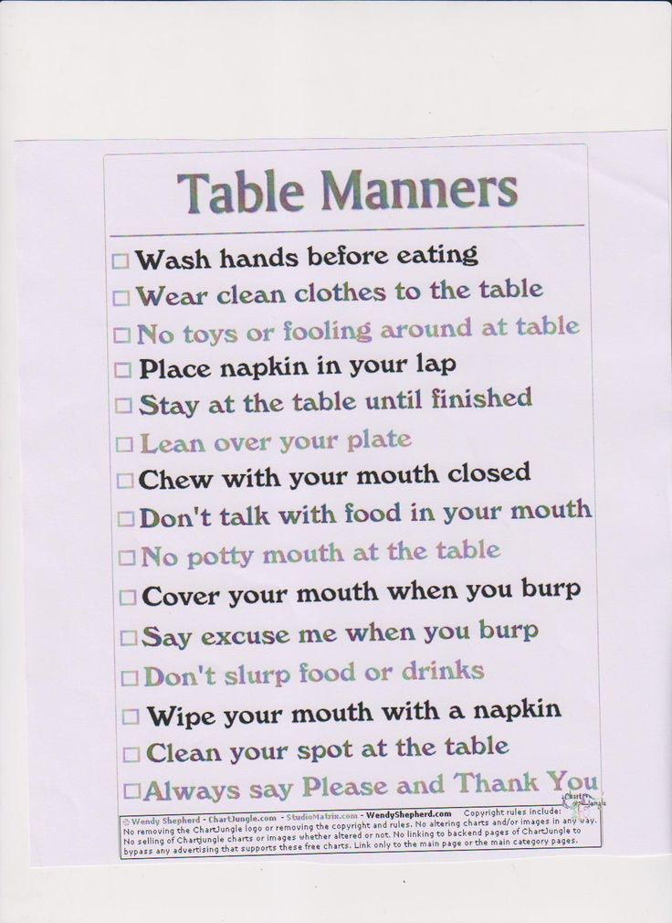 206 Best Etiquette Manners And Poise Images On Pinterest