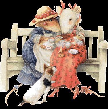Marjolein Bastin - tea time with Vera & Bianca