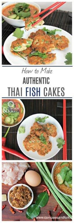 Make your own Authenitc Thai fishcakes at home. Better than a restaurant! Clcik here to learn how!  gluten free  www,compassandfork.com
