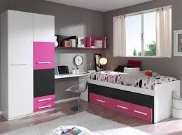 pink-black-white room