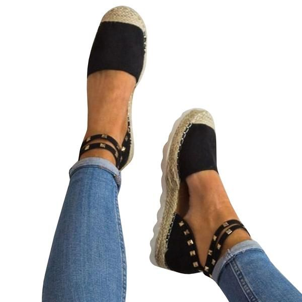 a3ba5ffba79 Chellysun Womans Platform Espadrilles Chunky Ankle Strap Sandals ...