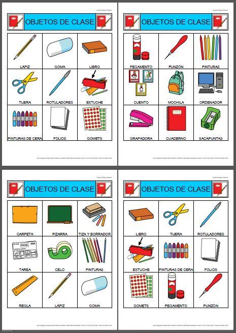 bingo de los objetos de clase