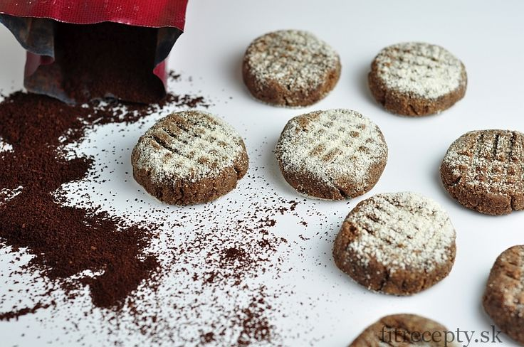 Nepečené kávové cookies - FitRecepty