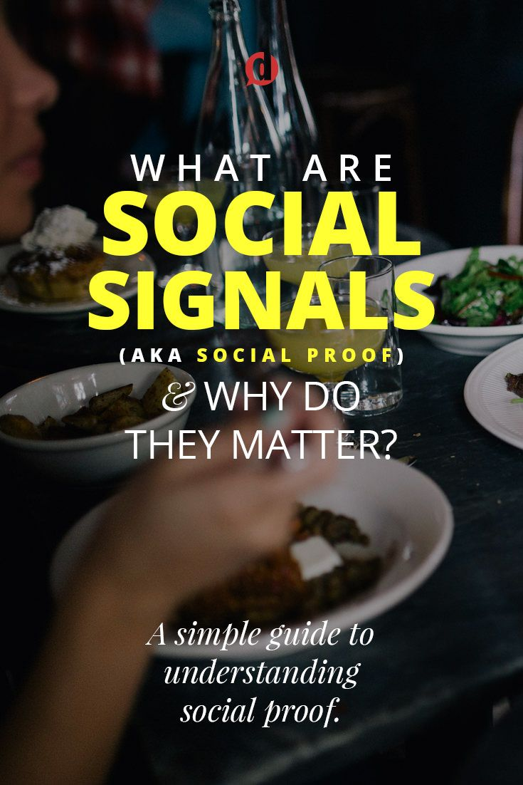 What exactly are social signals (or social proof) and how do they benefit you? After being asked this question several times in recent interviews I wanted to revisit the idea.