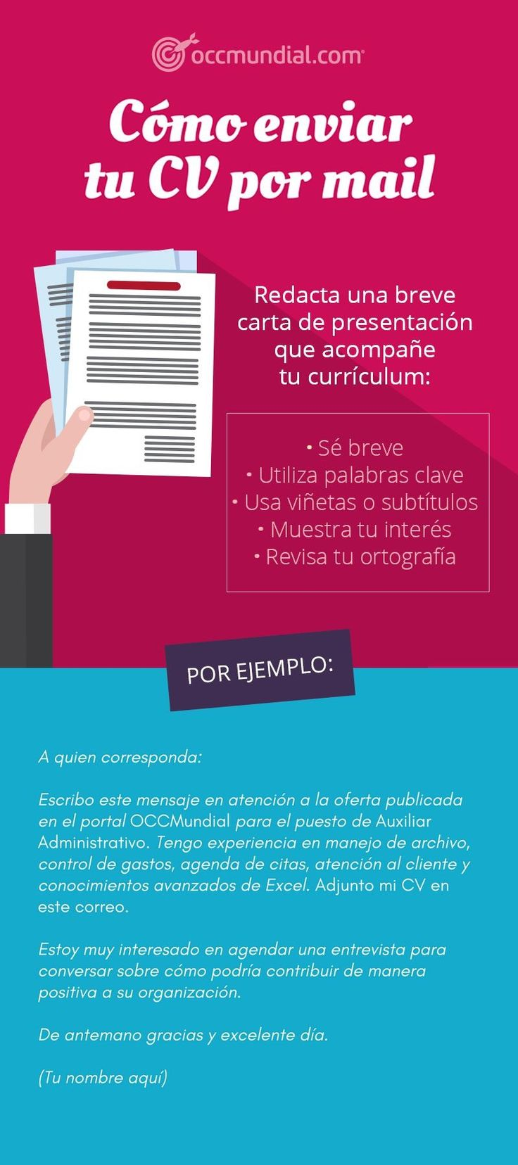 Lujo Mi Cv Por Mi Colección - Ejemplo De Currículum Comercial Ideas ...