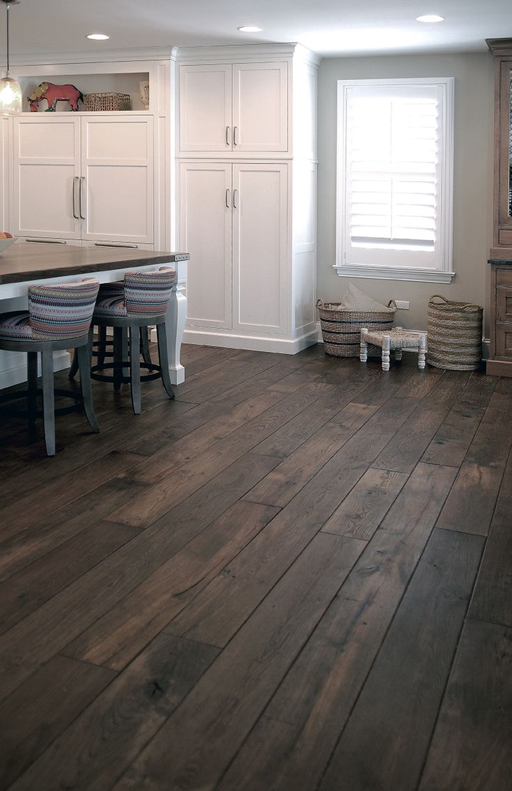 Best 25 dark wood floors ideas on pinterest for Black hardwood flooring