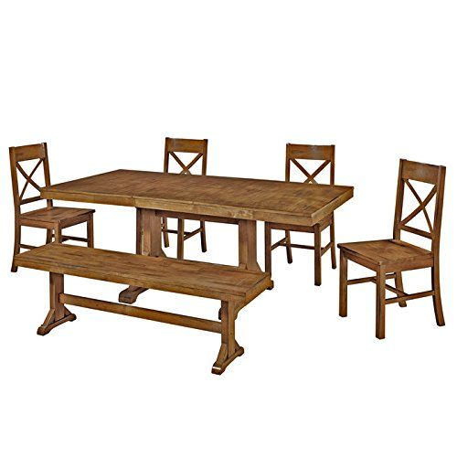 cool 6-Piece Solid Wood Dining Set