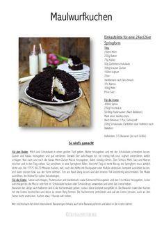 Maulwurfkuchen - Schokoladenkuchen mit Bananen und Sahne-Creme - Chocolate Banana Cream Cake Pie