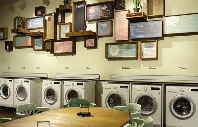 Lave suas roupas, corte seu cabelo e tome uma gelada num lugar só