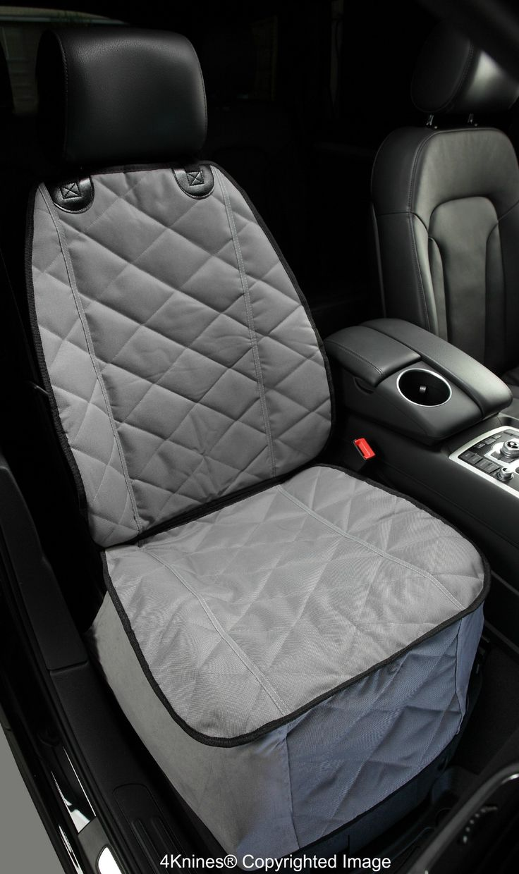 Bucket Front Seat Cover For Cars Trucks And SUVs Grey