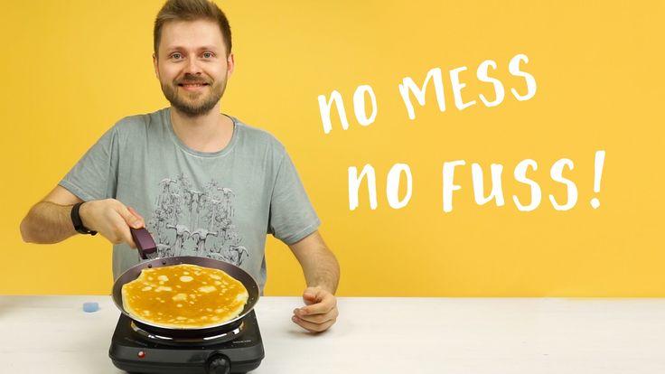 Clever Pancake Mix Life Hack