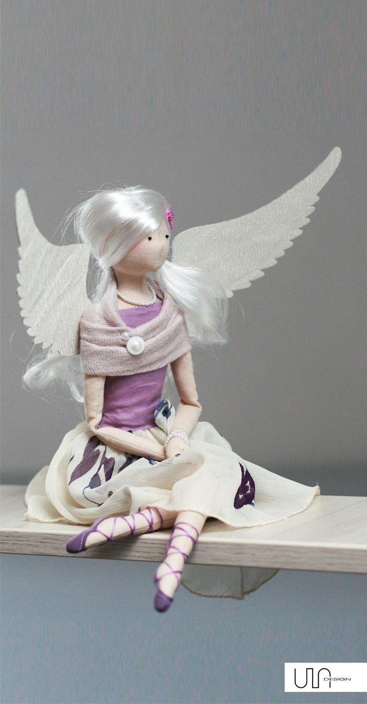 Ballet, ballerina, Tilda Angel Izabella ♥ handmade doll