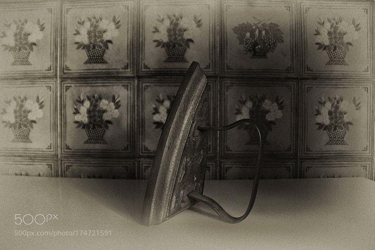 Ancient iron -  Ferro da stiro B&W by SimonaCrippa