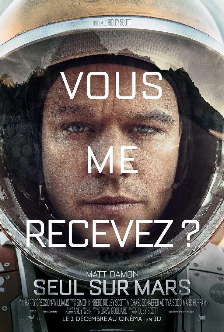 Seul sur Mars Film de Ridley Scott avec Matt Damon, Jessica Chastain, Kate Mara, Jeff Daniels. A la suite d'un orage sur Mars, Mark Watney est déclaré mort
