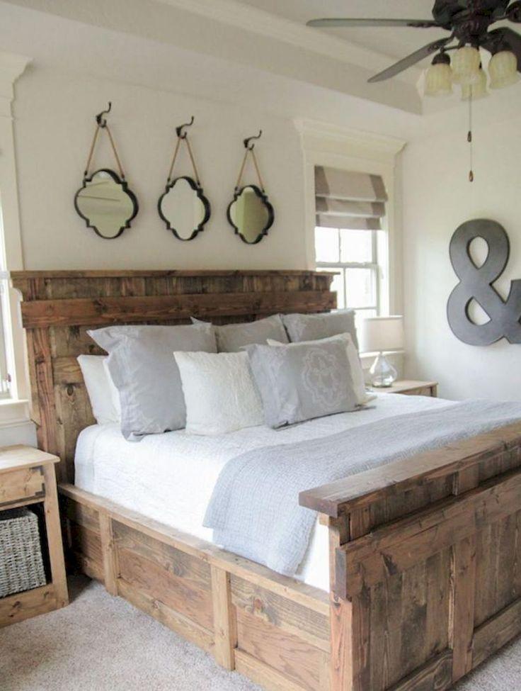 70+ Urban Master Bedroom Farmhouse Remodel Ideas %%page%