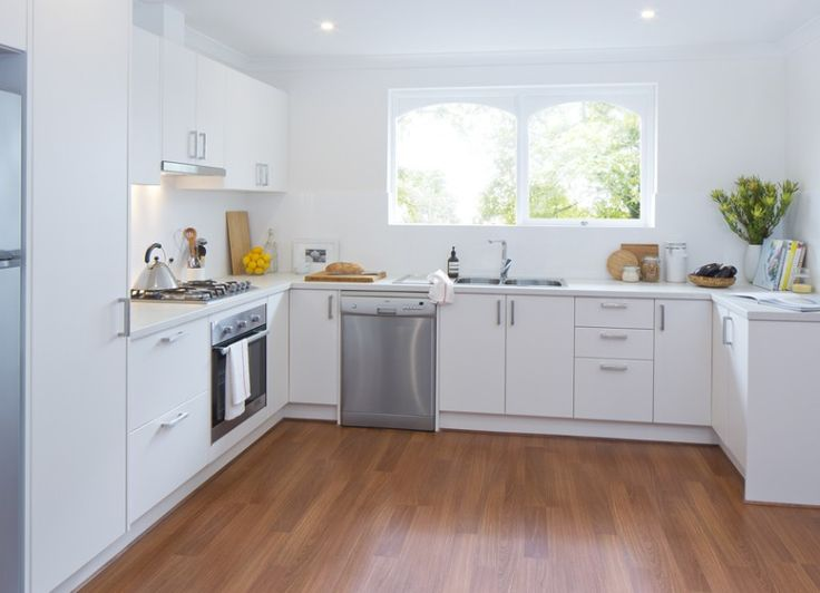 Kaboodle Kitchen - Breathing New Life, Available at Bunnings #cleanwhite #modern #renovation