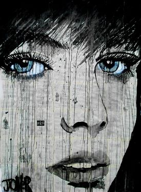 "Saatchi Online Artist Loui Jover; Drawing, ""wish"" #art"