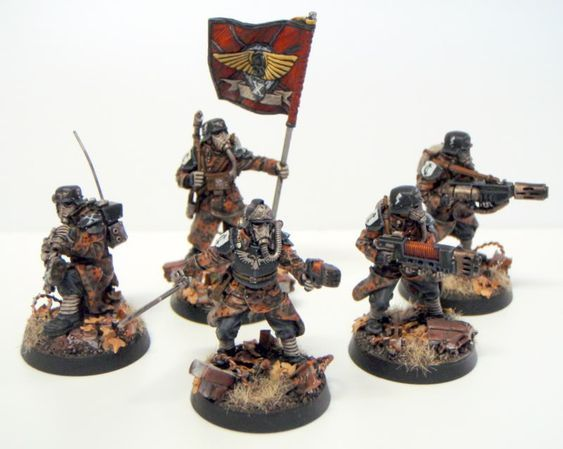 *BITS* Death Korps of Krieg Firing Figur F Forgeworld