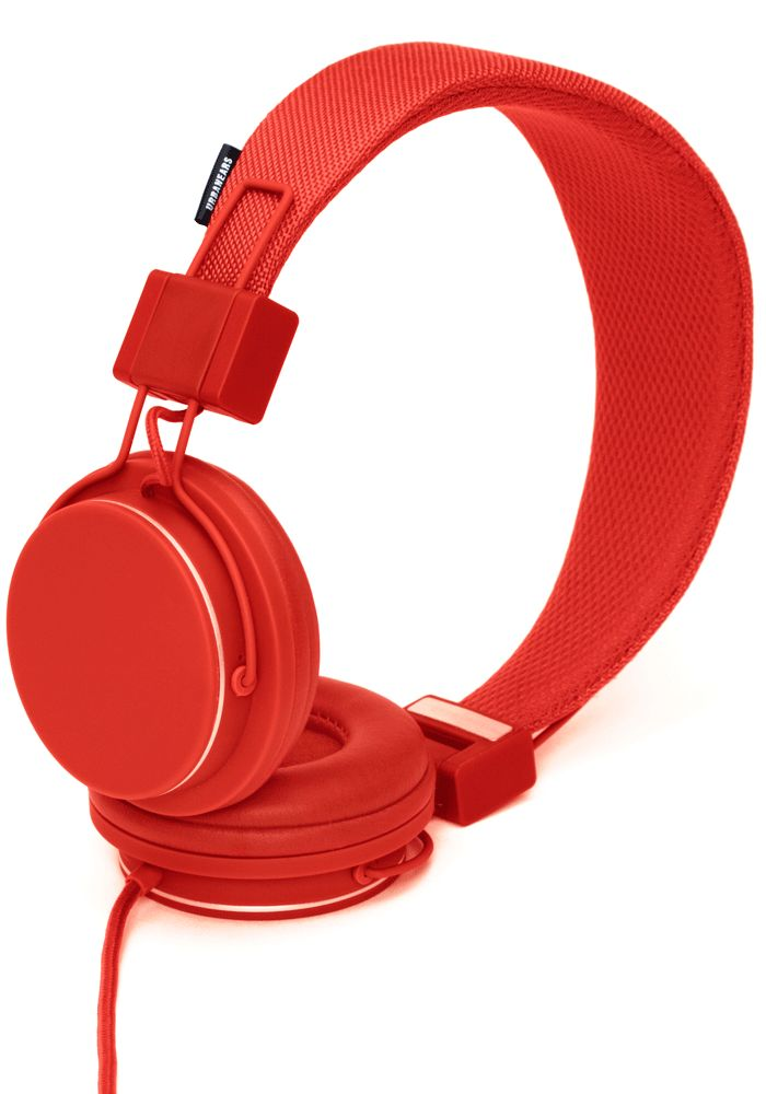 Urbanears Plattan headphones, Tomato