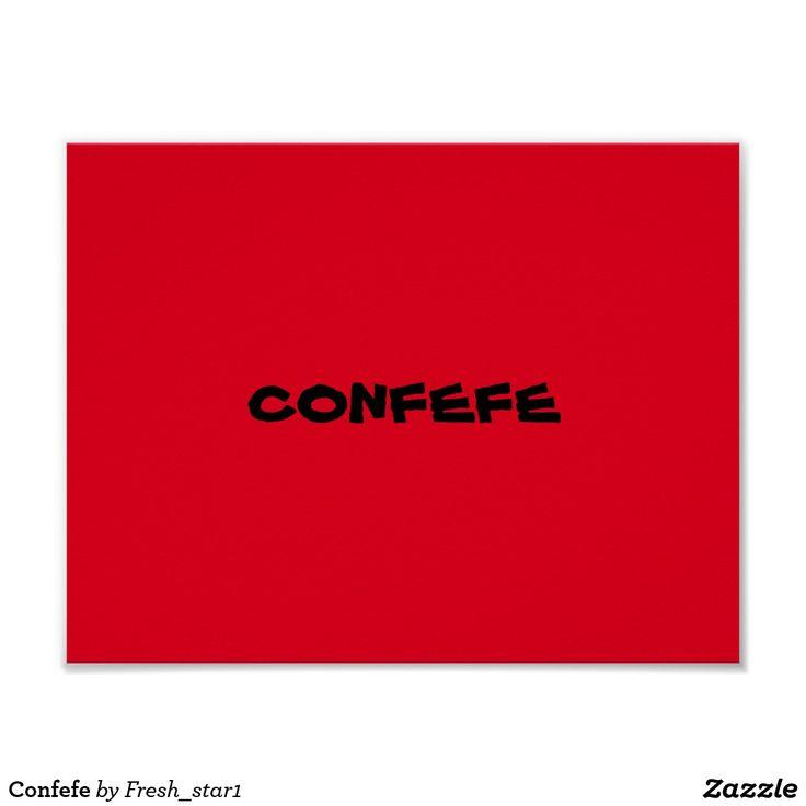 Confefe Poster