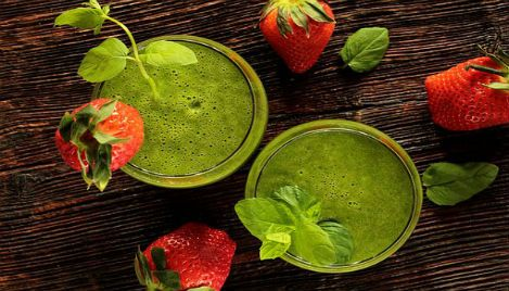 Zielony koktajl fit