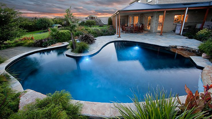 1493 best c 39 est outdoor images on pinterest swimming for Pool designs victoria