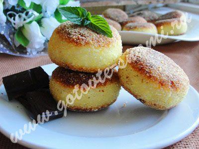 Сырники с шоколадом   Готовьте с нами