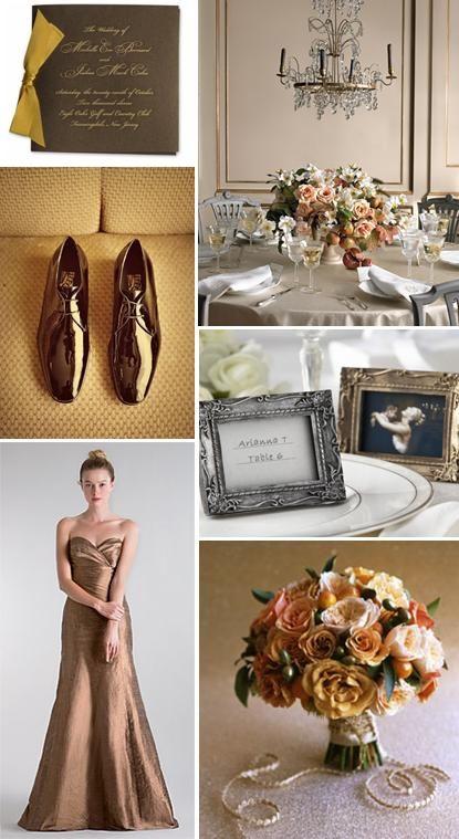 Bronze Dress Shoes, Salvatore Ferragamo