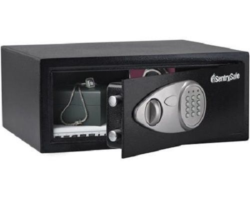 sentry safe home security electronic pistol combination fire proof gun lock box