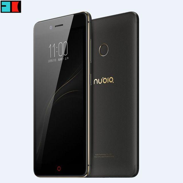 """На Складе ZTE Nubia Z11 mini S 4 Г LTE 5.2 """"MSM8953 Окта основные 2.0 ГГц 4 ГБ 64 ГБ 1920X1080 Dual SIM 23.0 МП Отпечатков Пальцев Мобильный Телефон"""