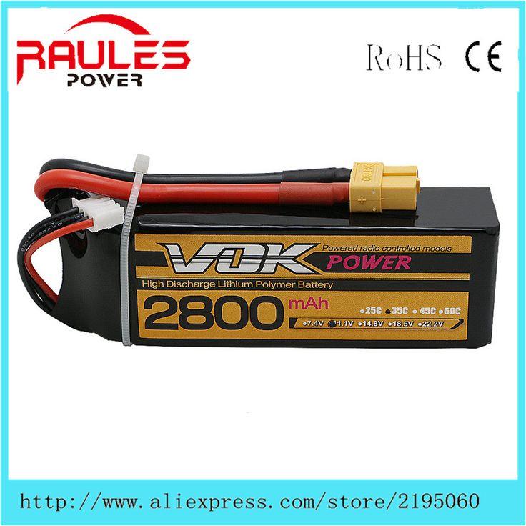 $34.65 (Buy here: https://alitems.com/g/1e8d114494ebda23ff8b16525dc3e8/?i=5&ulp=https%3A%2F%2Fwww.aliexpress.com%2Fitem%2FVOK-2pcs-2800mah-3S-11-1V-35C-lipo-battery-lipo-batteria-xt60-t-plug-AKKU-accufor%2F32723955454.html ) VOK 2pcs 2800mah 3S 11.1V 35C lipo battery lipo batteria xt60 t plug AKKU accufor airplane helicoter for just $34.65